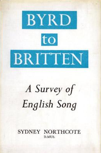 Byrd to Britten: A Survey of English Song book cover