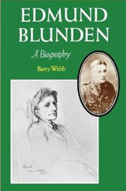 Edmund Blunden: A Biography by Barry Webb book cover
