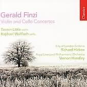 Finzi's Violin and Cello Concertos performed by Hickox, Wallfisch, and Little