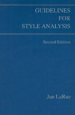 Guidelines for Style Analysis by Jan LaRue book cover