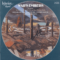 Hyperion CDD22026 War's Embers album cover
