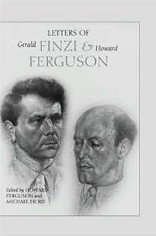 Letters of Gerald Finzi and Howard Ferguson book cover
