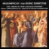 Magnificat And Nunc Dimittis - Choir Of New College Oxford performing Finzi's Magnificat for choir and organ