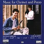 Music For Clarinet And Piano, with Finzi's 5 Bagatelles performed by  Carpenter and Mcarthur