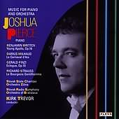 Music For Piano And Orchestra with Finzi's Ecologue for piano and strings performed by Joshua Pierce