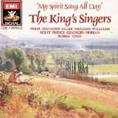 My Spirit Sang All Day - King's Singers performing Finzi's part songs