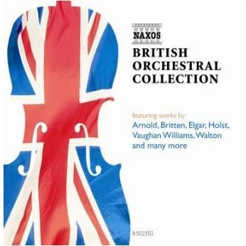 Naxos 8502502 British Orchestral Collection album cover