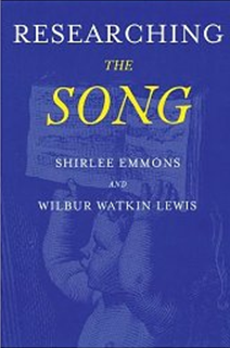 Researching The Song by Shirlee Emmons and Wilbur Watkin Lewis book cover