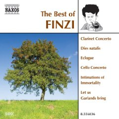 The Best of Finzi album cover