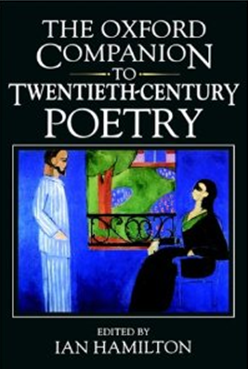 The Oxford Companion to Twentieth-Century Poetry book cover