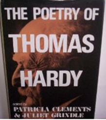 The Poetry of Thomas Hardy by Patricia Clements and Juliet Grindle book cover