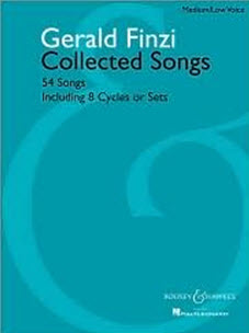 Gerald Finzi Collected Songs: 54 Songs, Including 8 Cycles or Sets score cover
