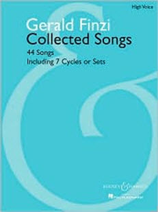 Gerald Finzi Collected Songs: 44 Songs, Including 7 Cycles or Set score cover