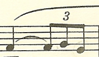 rhythmic motif measure 2
