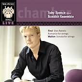 Toby Spence and the Scottish Ensemble - Chandos album cover